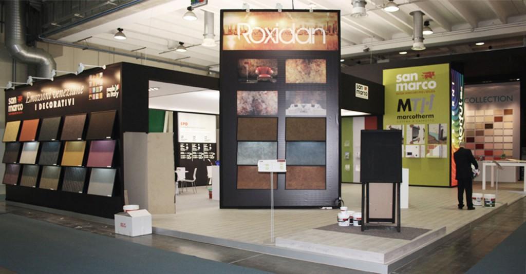 Progetto stand exhibition design fiera del colore 2010 for Colorificio san marco