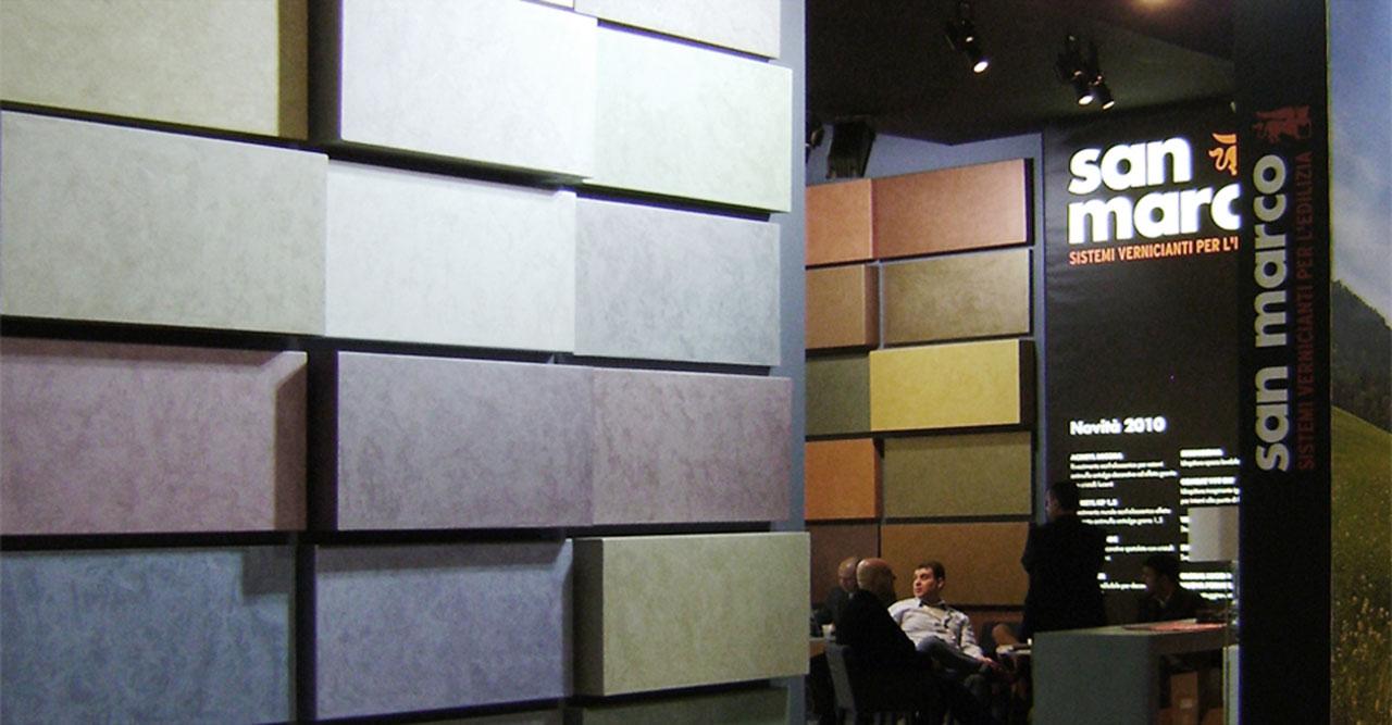 colorificio san marco made expo 2010 allestimento interni architettura progettazione stand allestimento stand 02