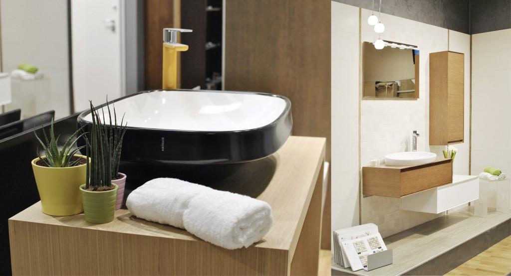 Progettazione interni allestimento showroom arredobagno milano - Allestimento bagno ...