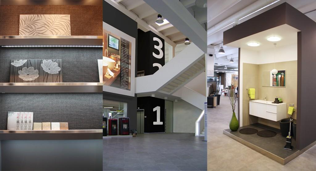 progettazione showroom arredobagno - progettazioneinterni.net - Arredo Bagno Vasto