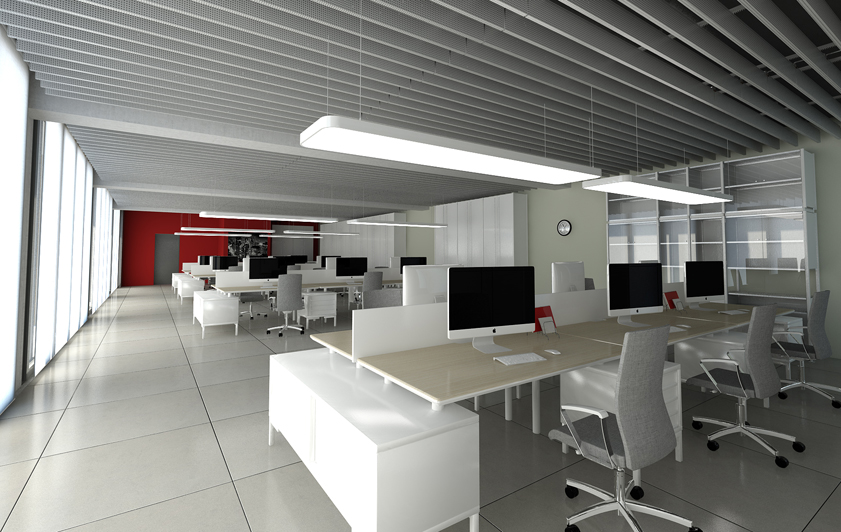 Progettazione interni per allestimento uffici for Progettazioni interni