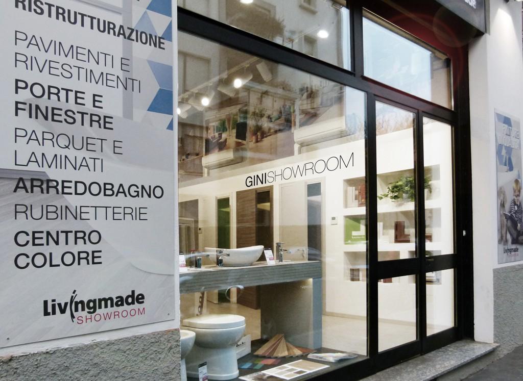 Progetto showroom finiture e arredo bagno a milano - Ultime tendenze pavimenti interni ...