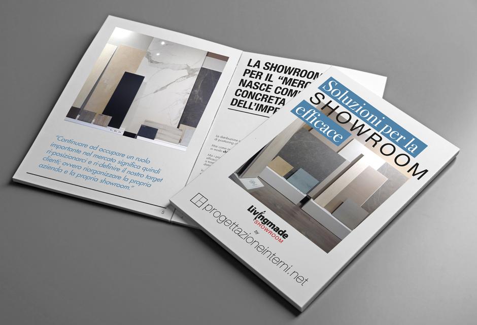 il manuale della showroom finiture