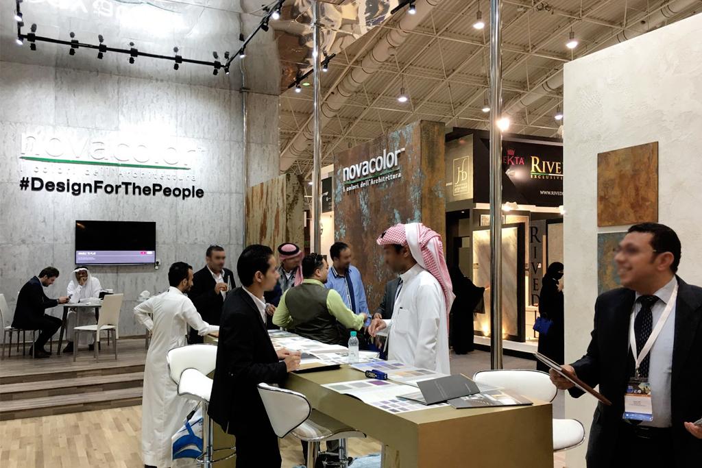 allestimento stand fieristico nel mercato arabo