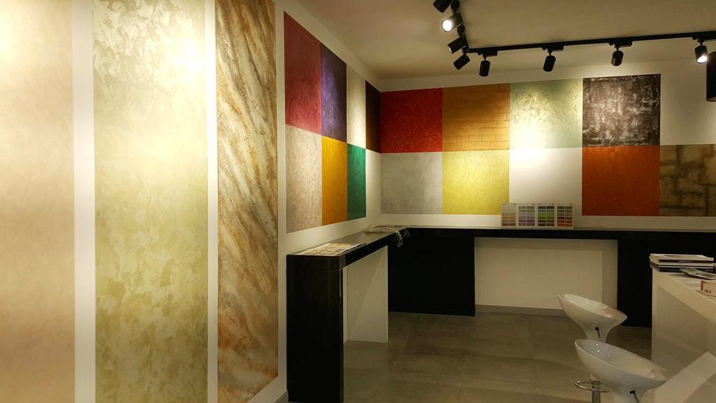 showroom del colore - progettazione interni 2