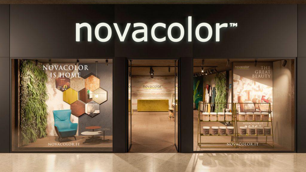Format showroom Novacolor is Home 2018