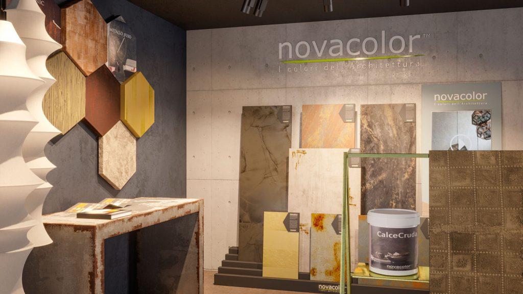 Essential | Realizzazione format showroom Novacolor is Home 2018