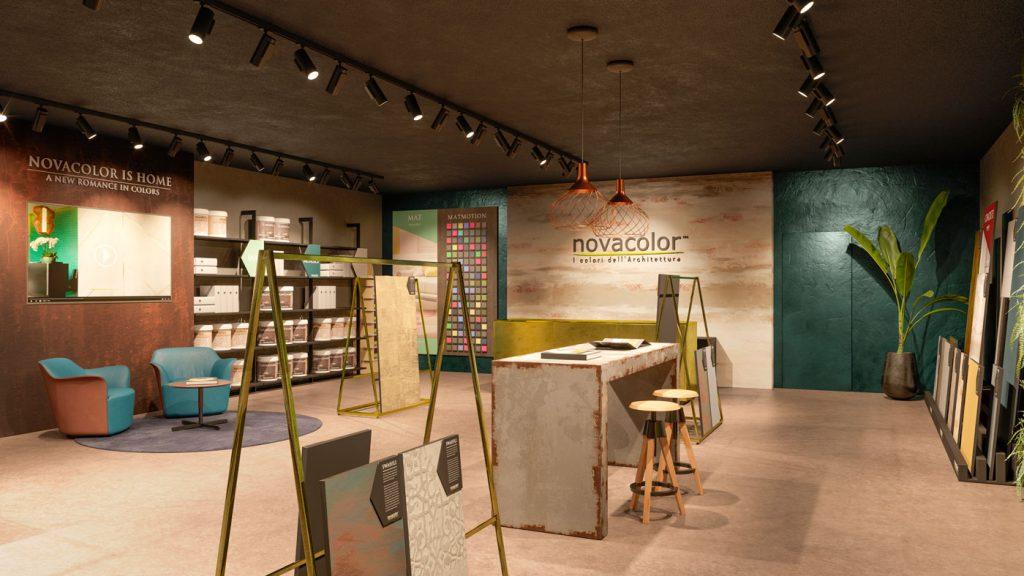Nature | Realizzazione format showroom Novacolor is Home 2018