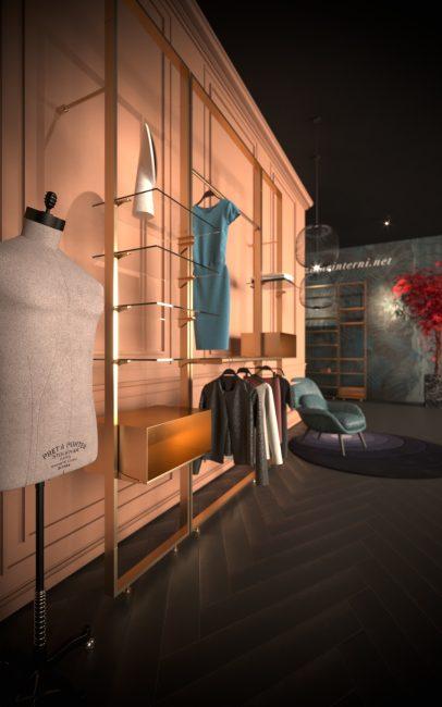 Studio di retail design specializzato nell'allestimento di negozi