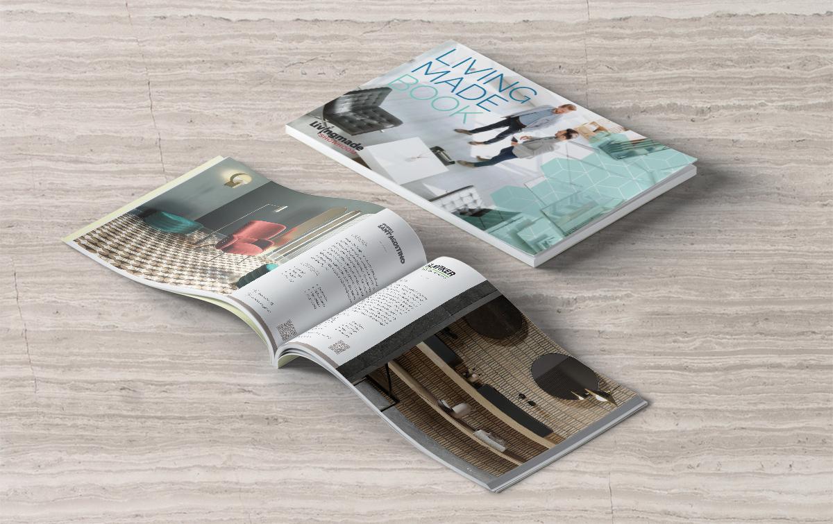 grafica coordinata - brochure commerciale