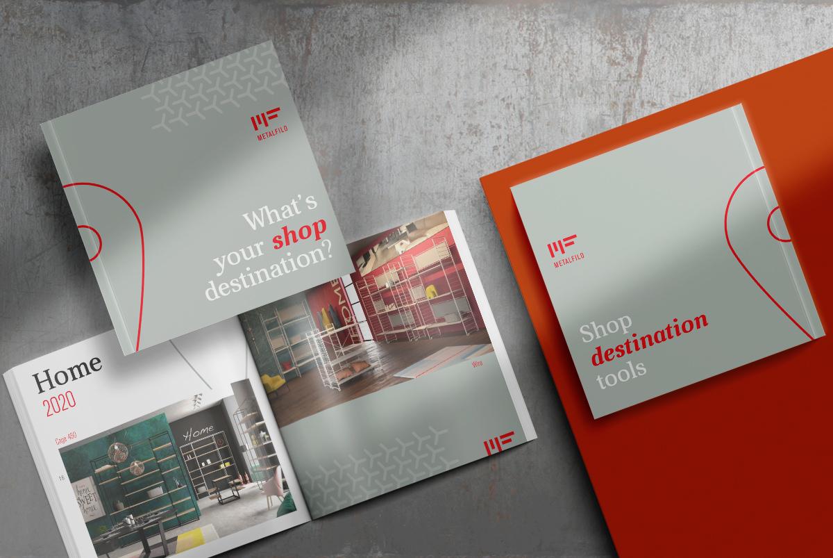brochure commerciale per Metalfilo