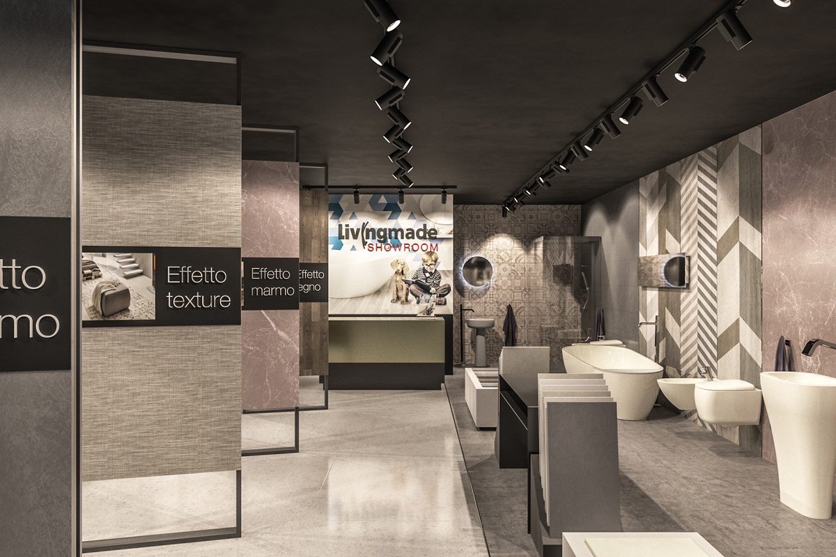 showroom format commerciale Livingmade