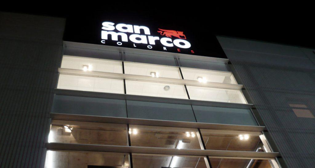 colorificio san marco allestimento interni architettura progettazione negozi allestimento negozi 02