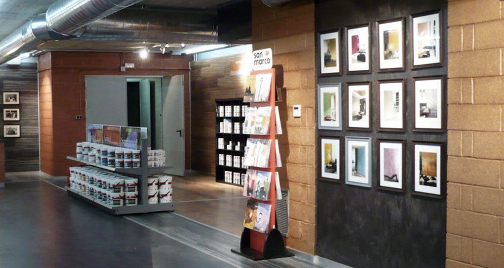 colorificio san marco allestimento interni architettura progettazione negozi allestimento negozi 04
