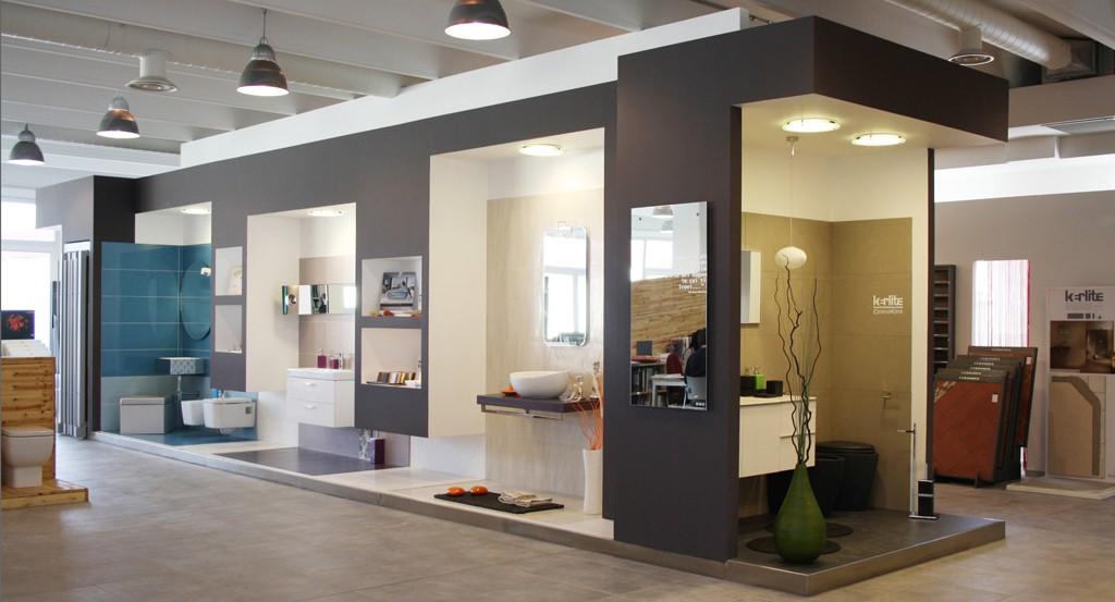 progettazione showroom arredobagno
