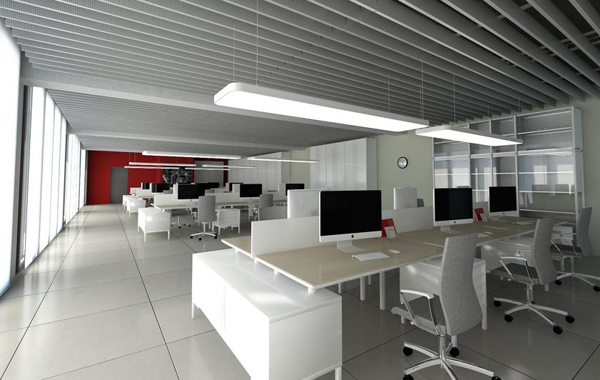 Progettazione interni per allestimento uffici for Allestimento ufficio