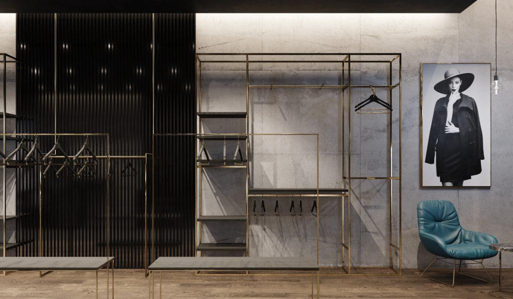 progetto negozio retail design