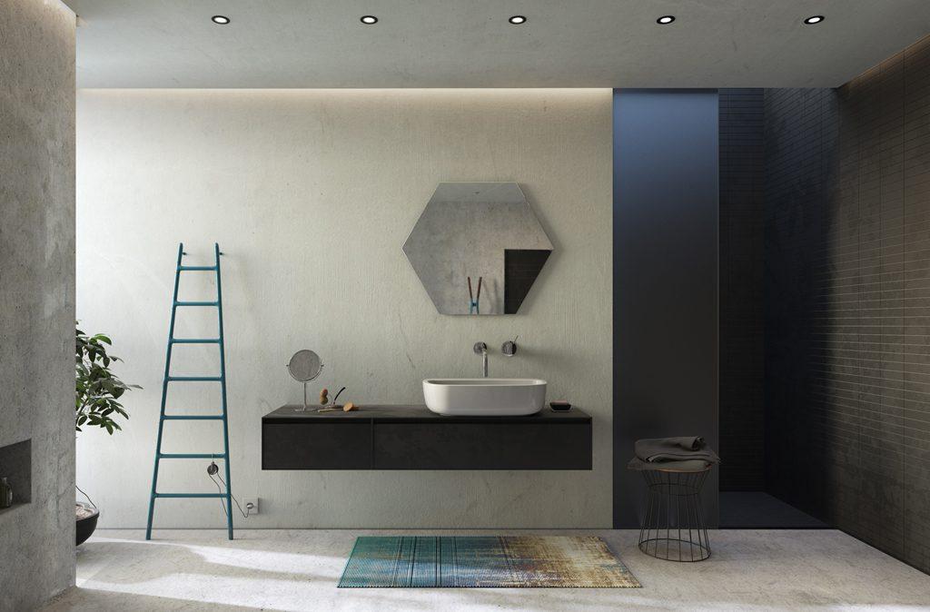 3D rendering bagno