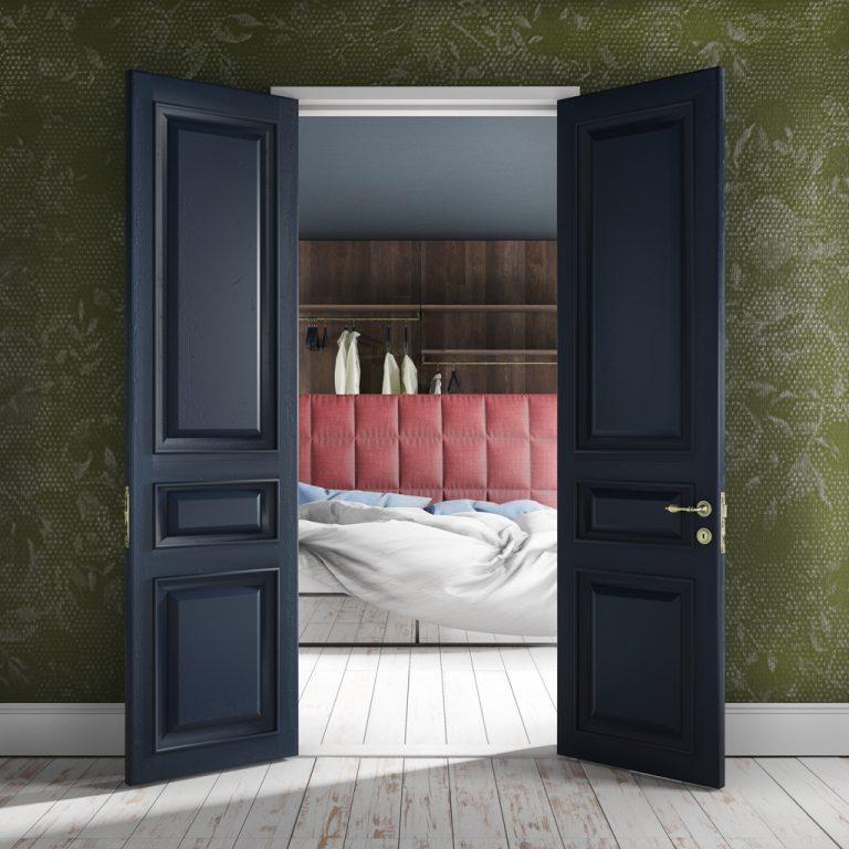 Render interni - camera da letto