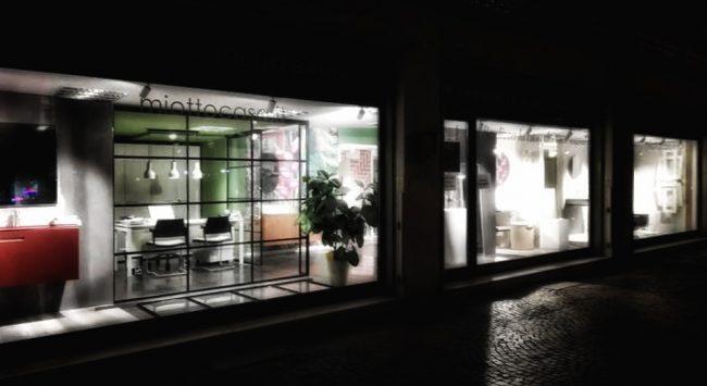 lo showroom vetrina in centro città