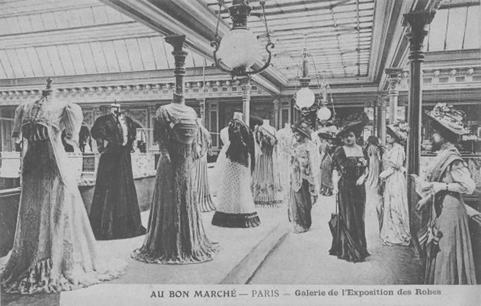 le origini del retail design