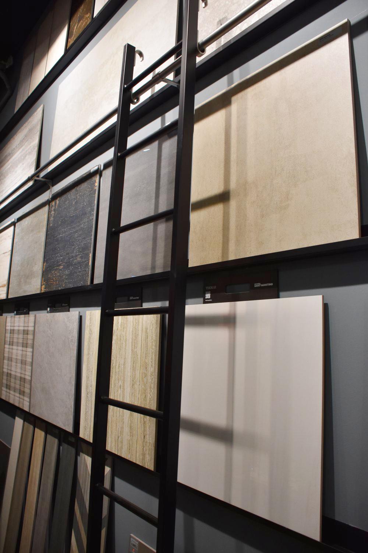 progettazione showroom ceramiche a Milano
