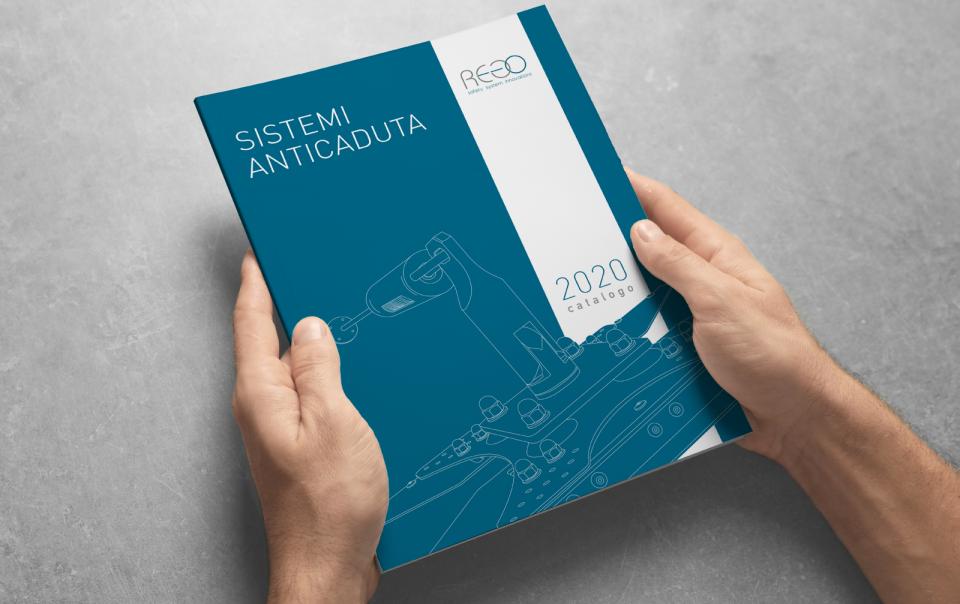 nuova branding: catalogo Rego