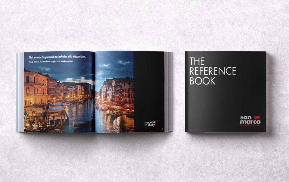 reference book per colorificio san marco