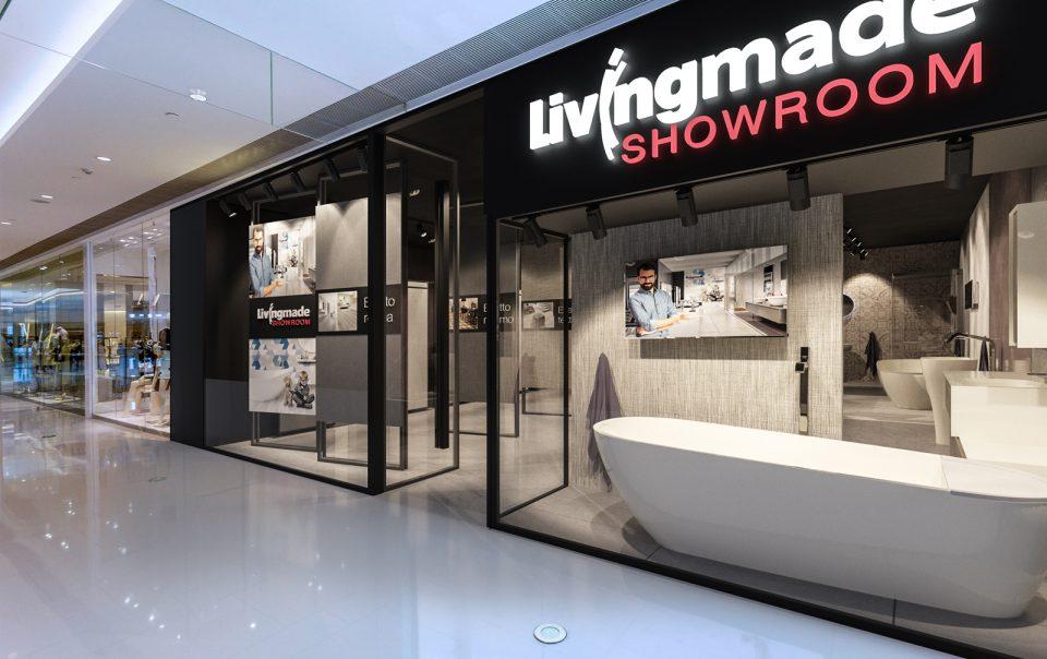 vetrina del format showroom nel centro commerciale