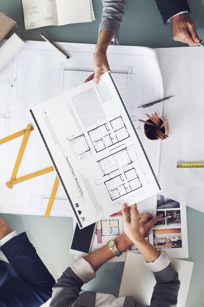 coordinamento lavori nella progettazione e realizzazione uffici