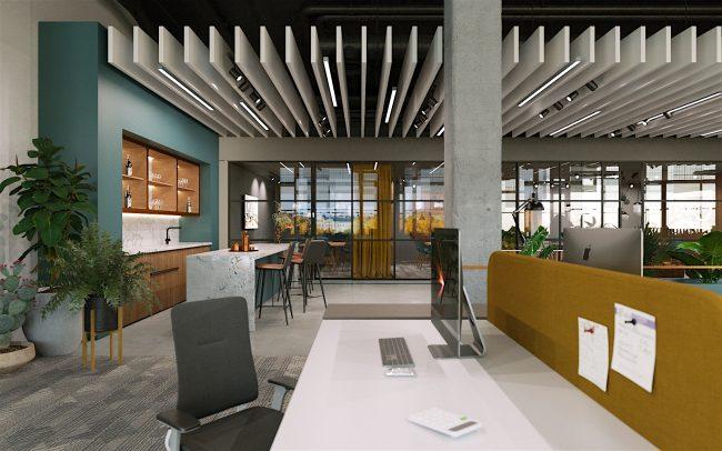 Progetto uffici di design
